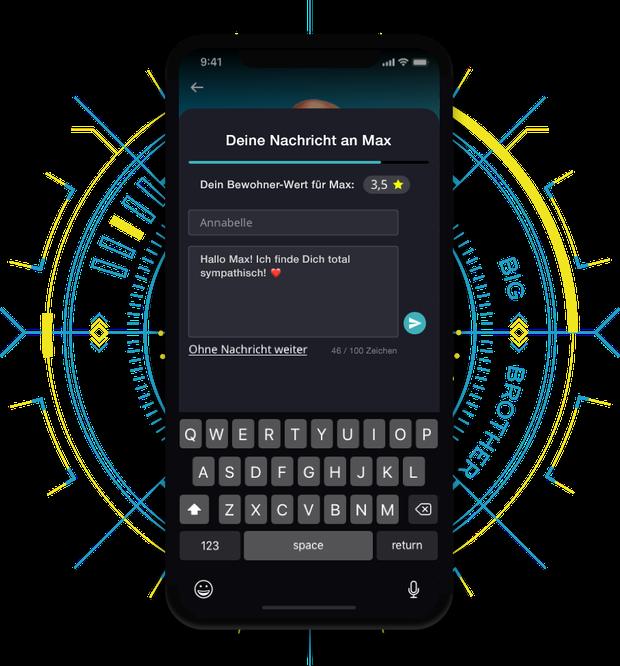 Big Brother 2020: Landing Page für App | Bild 2
