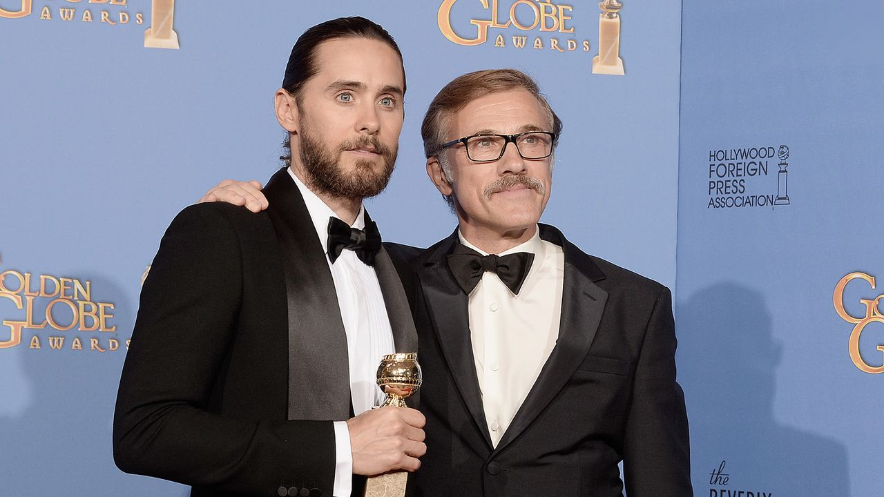 Golden-Globe-Jared Leto-Christoph-Waltz-14-01-12-getty-AFP - Bildquelle: getty-AFP