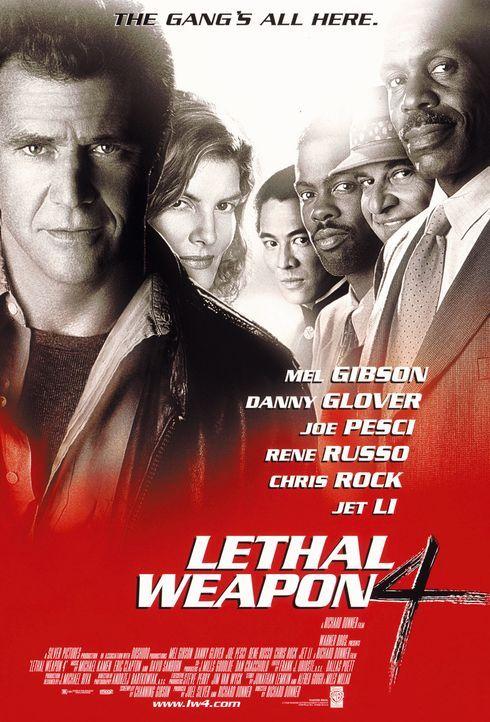 Lethal Weapon IV - Zwei Profis räumen auf - Plakatmotiv - Bildquelle: Warner Bros. Pictures