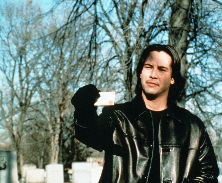 Observation ist alles: Serienkiller Griffin (Keanu Reeves) ... - Bildquelle: Universal Pictures