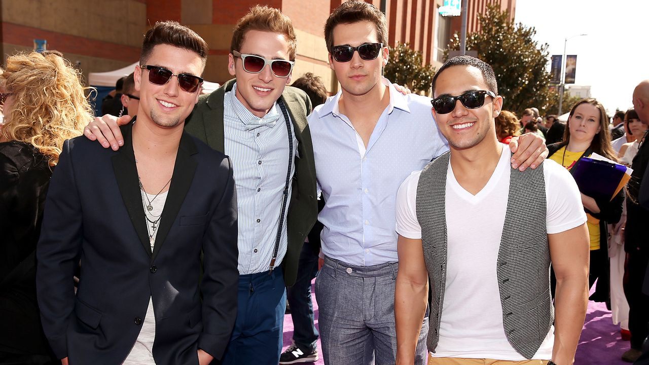 kids-choice-awards-2013-big-time-rush-130323-04-getty-AFP - Bildquelle: getty-AFP
