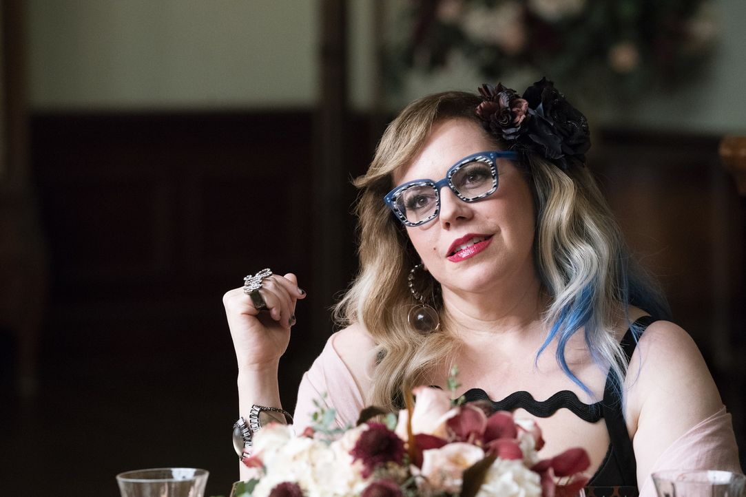 Penelope Garcia (Kirsten Vangsness) - Bildquelle: Cliff Lipson 2019 CBS Broadcasting, Inc. All Rights Reserved/Cliff Lipson