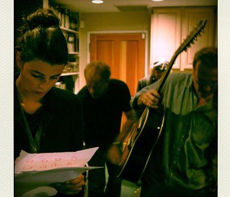 Kurz vor der Aufnahme... - Bildquelle: Sarah Muehlhause