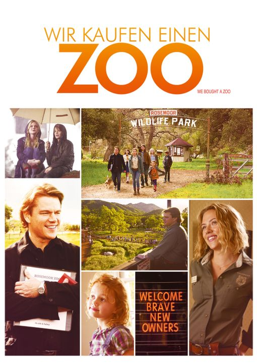 Wir kaufen einen Zoo - Plakatmotiv - Bildquelle: 2011 Twentieth Century Fox Film Corporation. All rights reserved.
