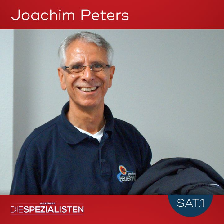Joachim Peters - Bildquelle: SAT.1