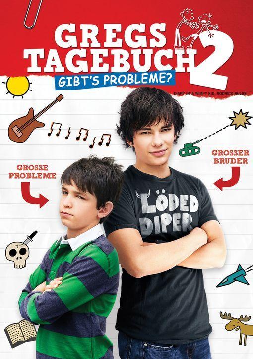 GREGS TAGEBUCH 2 - GIBT'S PROBLEME? - Plakatmotiv - Bildquelle: 2011 Twentieth Century Fox Film Corporation. All rights reserved.