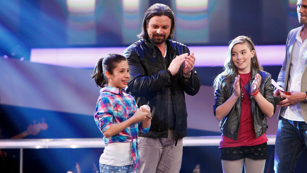 The-Voice-Kids-epi05-StephanieMichele-1-SAT1-Richard-Huebner - Bildquelle: SAT.1/Richard Hübner