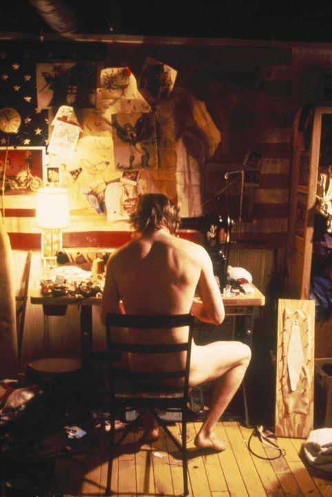 """""""Buffalo Bill"""" (Ted Levine) kidnappt junge Frauen, tötet sie und häutet dann ihre Leichen ... - Bildquelle: Orion Pictures Corporation"""