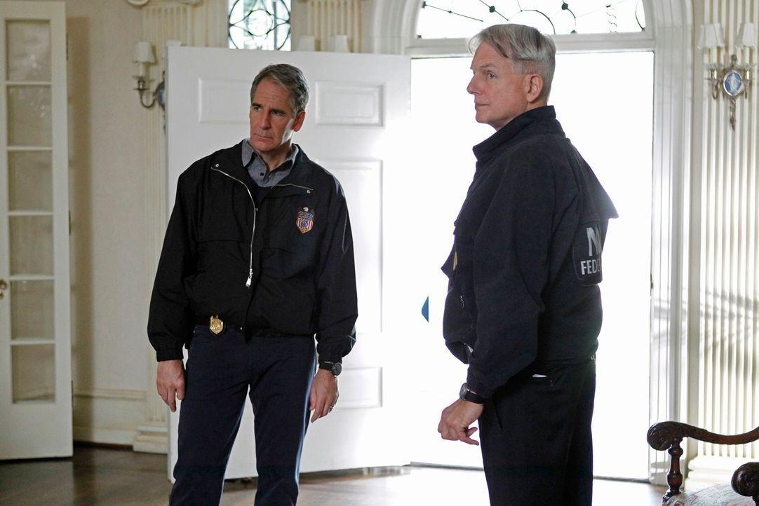 Ein schwerer Schlag für Pride (Scott Bakula, l.) und Gibbs (Mark Harmon, r.): Ihr getöteter Ex-Mentor war offenbar nicht der, für den sie ihn gehalt... - Bildquelle: CBS Television