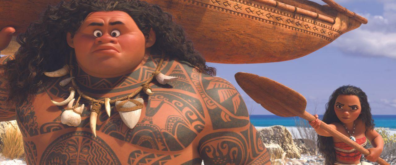 Maui (l.); Vaiana (r.) - Bildquelle: Disney Enterprises, Inc.