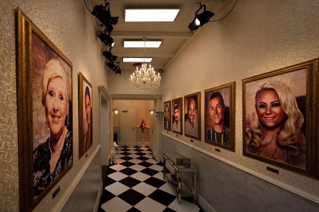 """Das Märchenschloss von """"Promi Big Brother"""". - Bildquelle: Willi Weber SAT.1 / Willi Weber"""