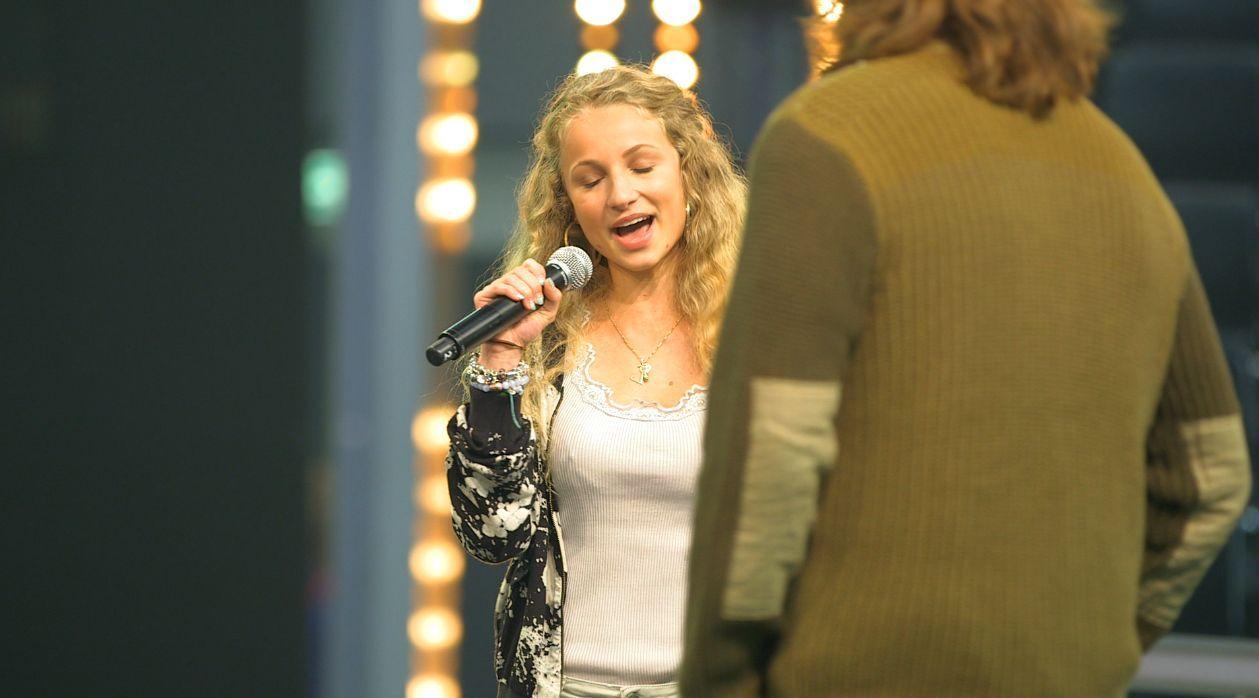 Linda Antoina Heue - Probe bei The Voice of Germany