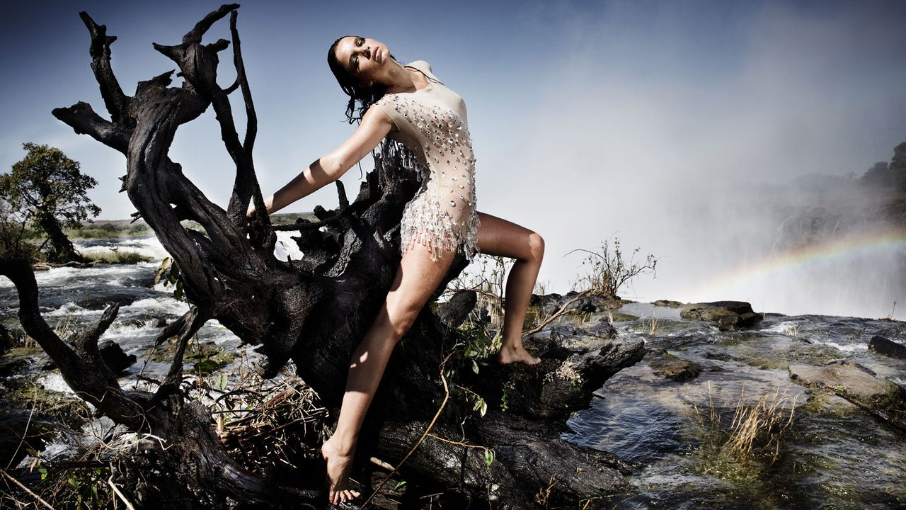 MDSS-Wasserfall-Shooting-Yuliya-Sat1-Oliver-Gast - Bildquelle: SAT.1/Oliver Gast