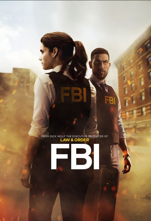 (1. Staffel) - FBI - Artwork - Bildquelle: 2018 CBS Broadcasting, Inc. All Rights Reserved