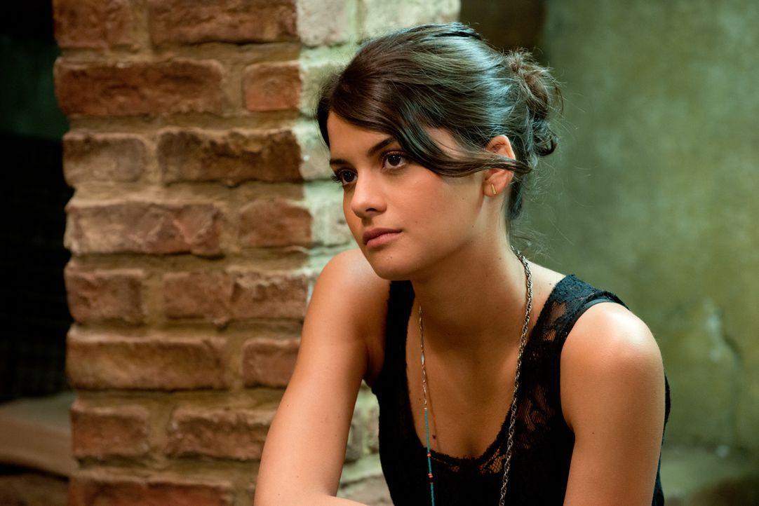 Als Jessie (Sofia Black D'Elia) auf einer Zeitreise David vorsichtig darauf hinweist, dass sie seit Jahren in ihn verliebt ist, reagiert der junge S... - Bildquelle: 2015 Paramount Pictures. All Rights Reserved.