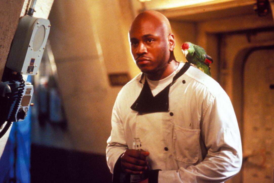 """Der Bordkoch Sherman """"Preacher"""" Dudley (LL Cool J) hat mit medizinischen Experimenten nichts am Hut ... - Bildquelle: Warner Bros. Pictures"""