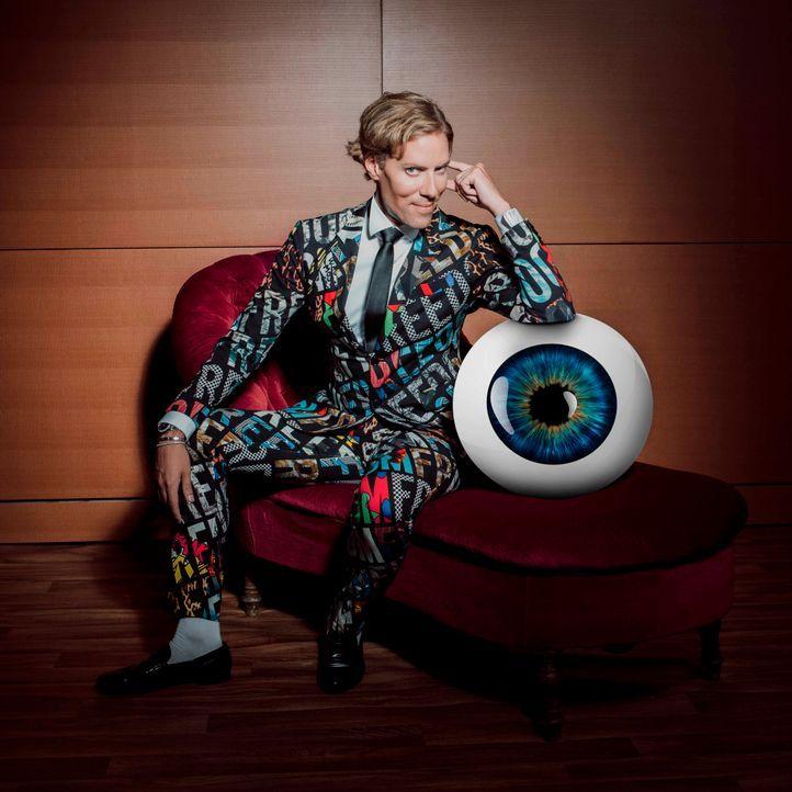 Jens Hilbert Promi Big Brother Auge - Bildquelle: SAT.1/Arne Weychardt