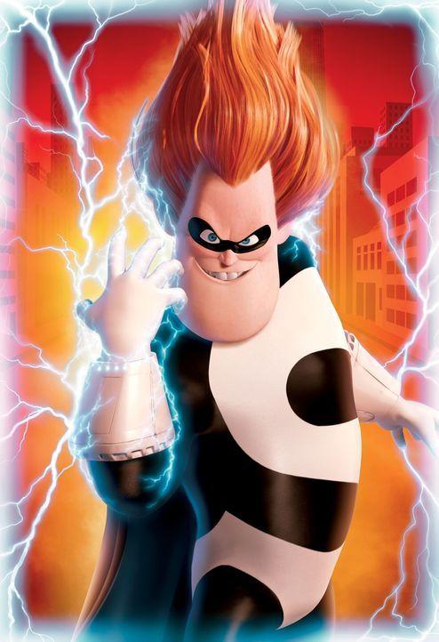 Buddy Pine nennt sich ab sofort Syndrome und sagt allen Superhelden den Kampf an ... - Bildquelle: Disney/Pixar. All rights reserved
