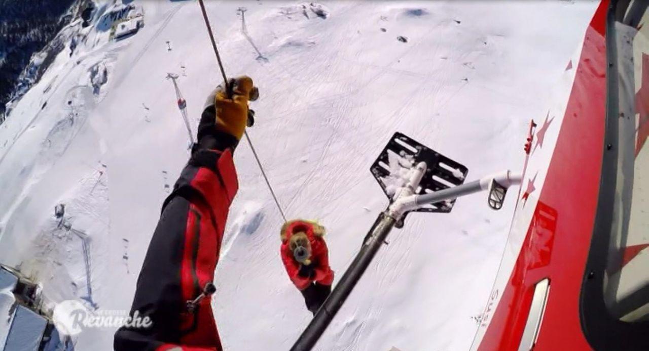 """Wird in """"Die große Revanche"""" von Jochen Schropp auf die Schippe genommen: Ruth Moschner ... - Bildquelle: Sat.1"""
