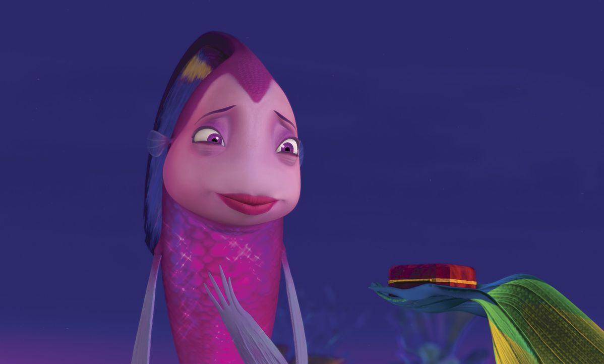 Als einzige glaubt sie ganz fest an Oscar: Engelfisch Angie ... - Bildquelle: United International Pictures