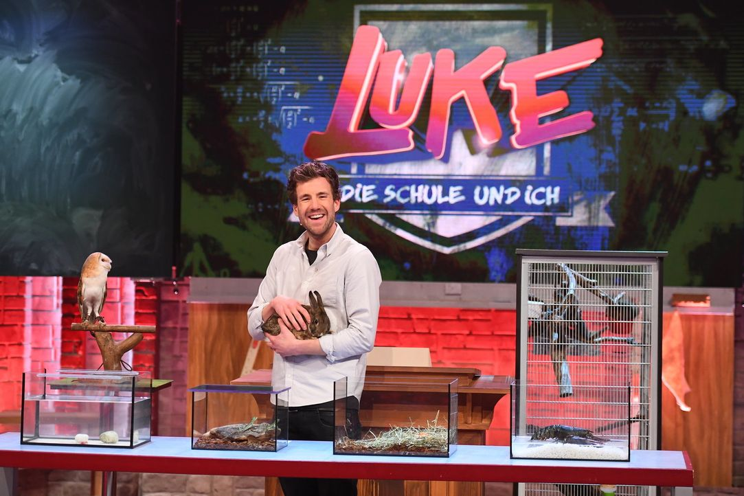 Luke Mockridge - Bildquelle: Willi Weber SAT.1