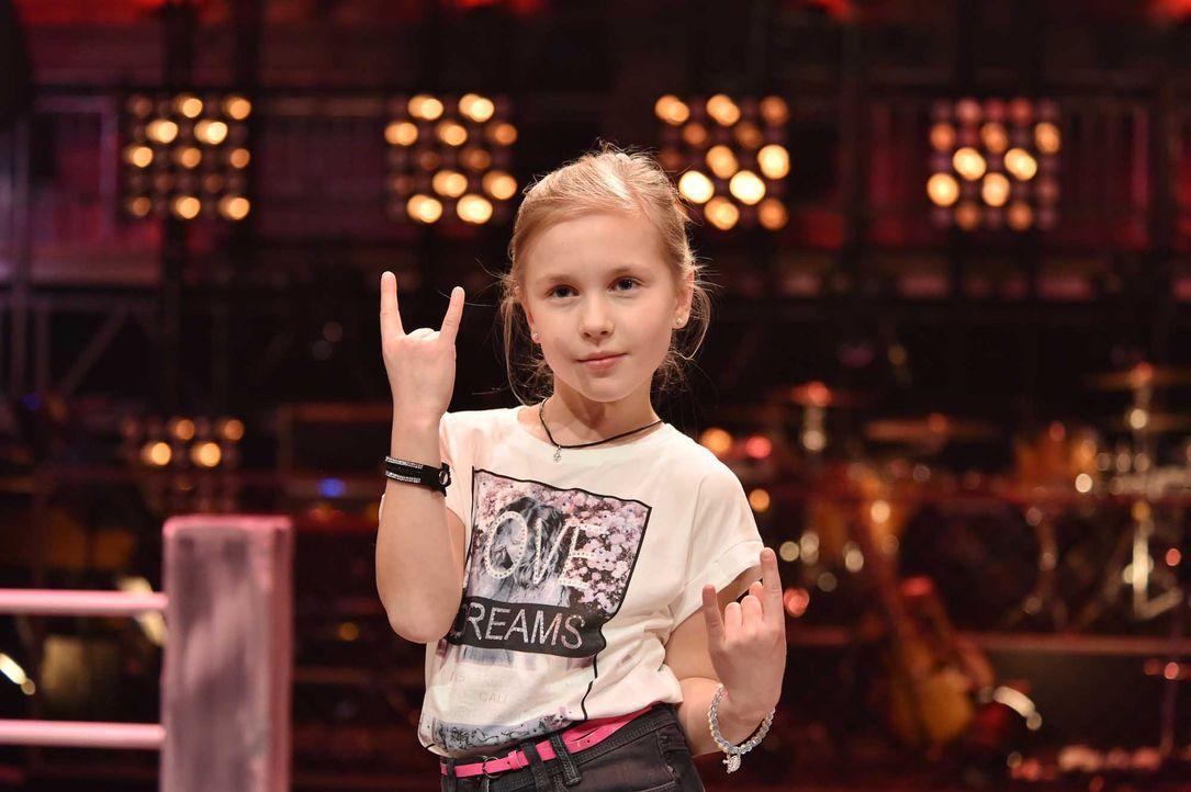 The-Voice-Kids-Stf04-Epi06-Emma-202-SAT1-André-Kowalski - Bildquelle: © SAT.1 / André Kowalski