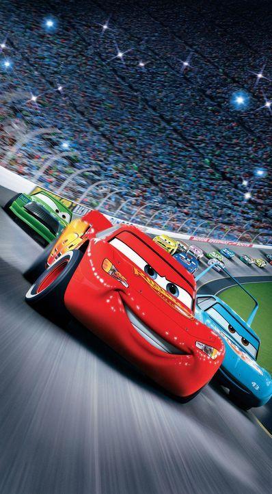 Lightning McQueen ist ein Teufelskerl von Rennwagen mit völlig überdrehtem Ego, der davon träumt, der jüngste Champion des Piston Cups, des grö... - Bildquelle: Walt Disney Pictures