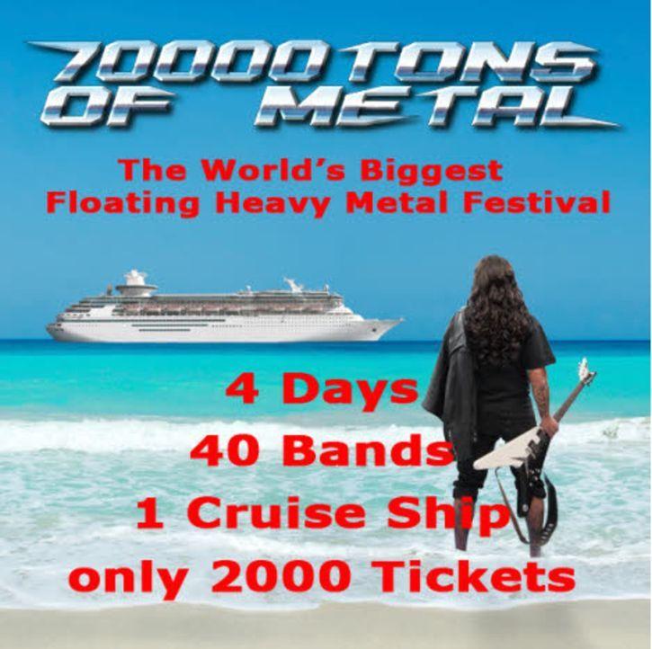 Ein irrer Trip - Die Heavy Metal-Kreuzfahrt ... - Bildquelle: SAT.1
