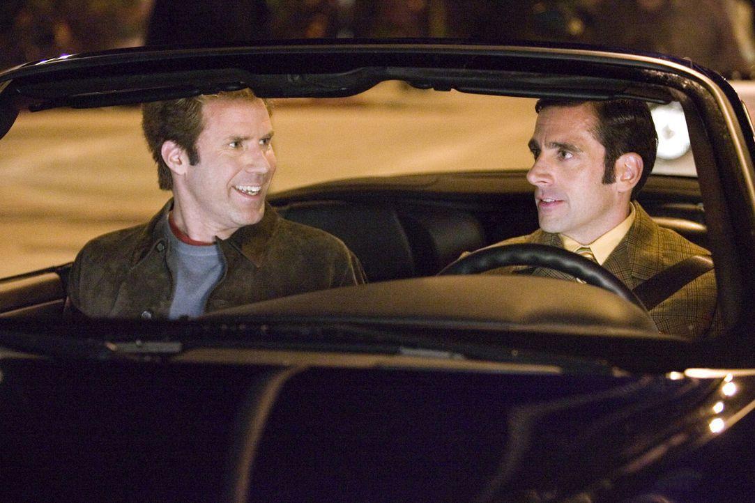 Freundlich ausgedrückt hat Jack Wyatt (Will Ferrell, l.) seine besten Tage als Leinwandstar schon hinter sich. Ein Comeback muss her, und sein enth... - Bildquelle: 2005 Columbia Pictures Industries, Inc. All Rights Reserved.