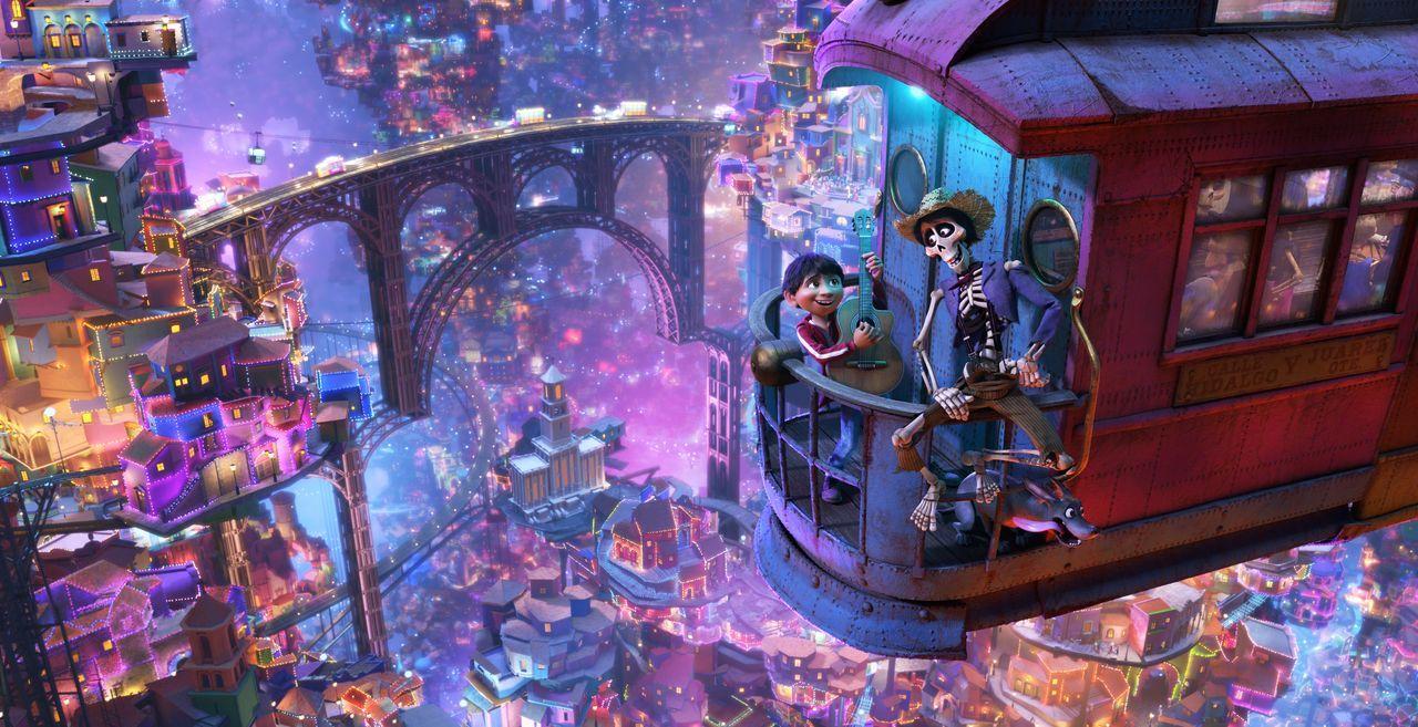 Miguel (l.); Héctor (r.) - Bildquelle: 2017 Disney/Pixar. All Rights Reserved.