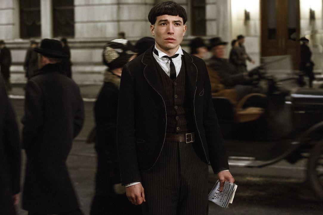 Credence Barebone (Ezra Miller) - Bildquelle: Warner Bros.
