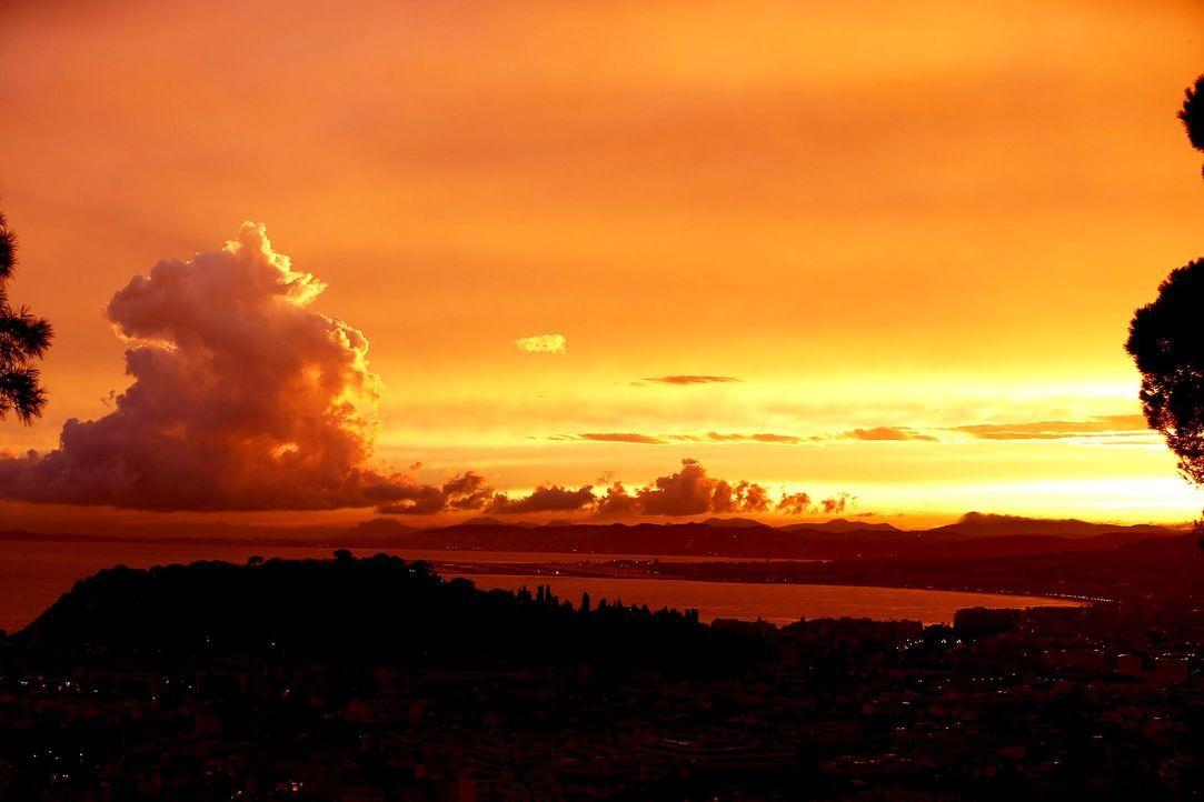 Nizza-Sonnenuntergang-AFP - Bildquelle: AFP Photo/Valery Hache
