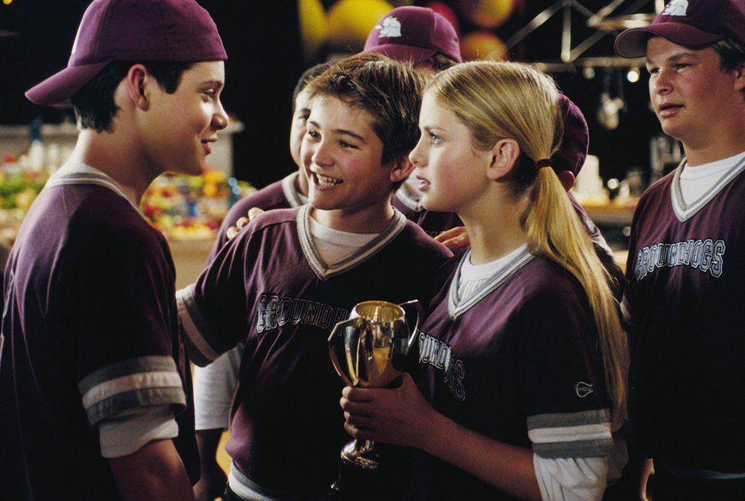 Eine verschworene Gemeinschaft: (v.l.n.r.) Eddie (Taylor Ball), D. B. (Reiley McClendon) und Hannah (Rose McIver) ? - Bildquelle: The Disney Channel