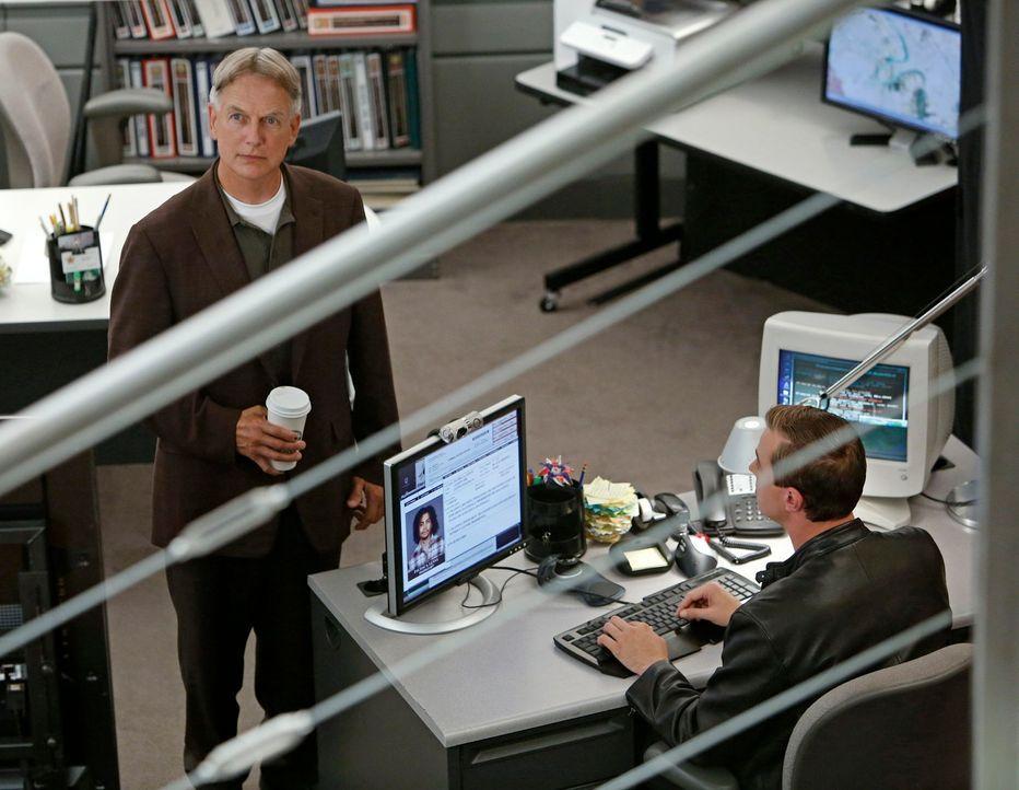 Müssen einen neuen Fall untersuchen: Gibbs (Mark Harmon, l.) und McGee (Sean Murray, r.) ... - Bildquelle: CBS Television