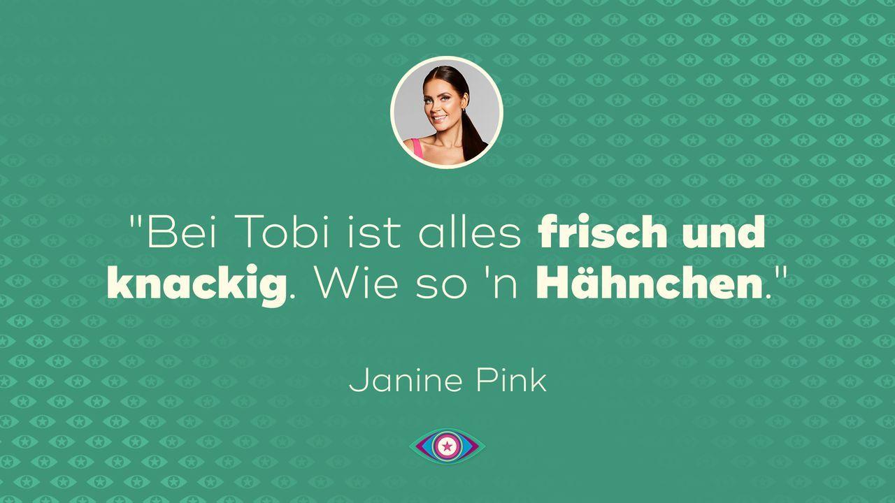 Tag 1: Janine Pink - Hähnchen - Bildquelle: SAT.1