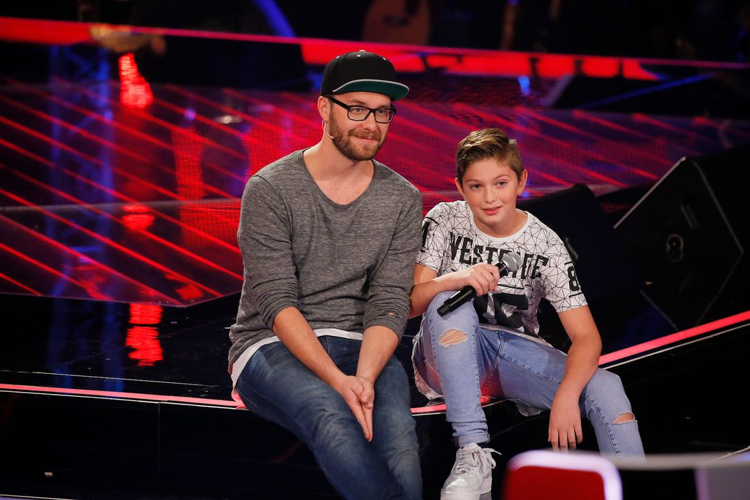 The-Voice-Kids-Stf04-Epi03-Jaimy1-SAT1-Richard-Huebner - Bildquelle: SAT.1/ Richard Hübner