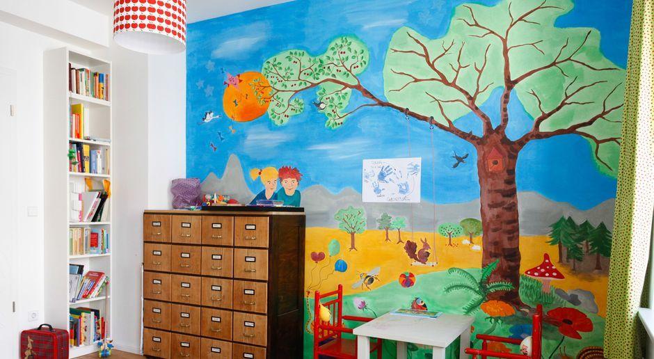 Kinderzimmer: Wandgestaltung nach individueller Vorlage | SAT.1