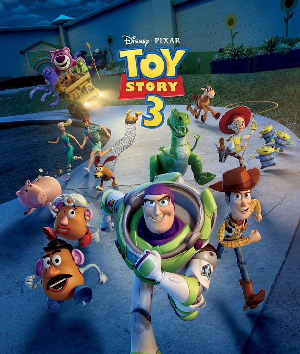 Toy Story 3 - Artwork - Bildquelle: Disney/Pixar