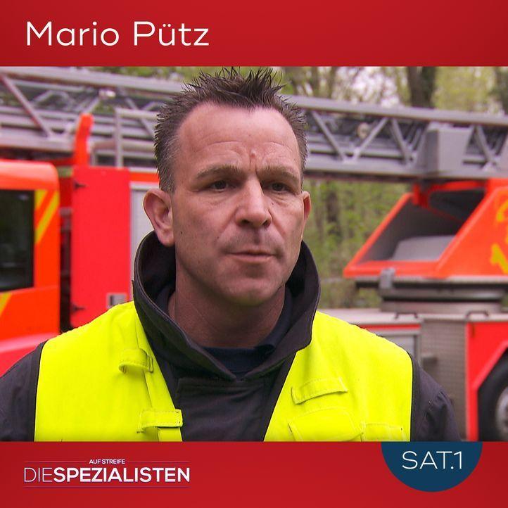 Mario Pütz - Bildquelle: SAT.1