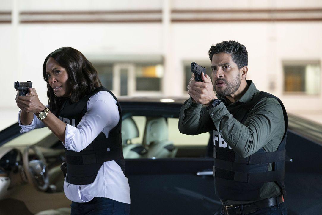 Dr. Tara Lewis (Aisha Tyler, l.); Luke Alvez (Adam Rodriguez, r.) - Bildquelle: Cliff Lipson ABC Studios / Cliff Lipson