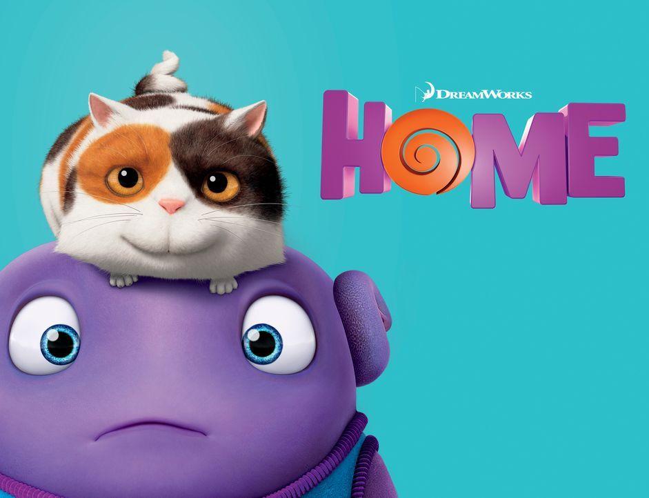 Home - Ein smektakulärer Trip - Plakatmotiv - Bildquelle: 2015 DreamWorks Animation, L.L.C.  All rights reserved.