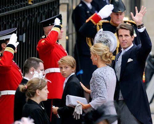 William-Kate-Westminster-Abbey-Pavlos-of-Greece-Marie-Chantal-11-04-29-500_404_AFP - Bildquelle: AFP