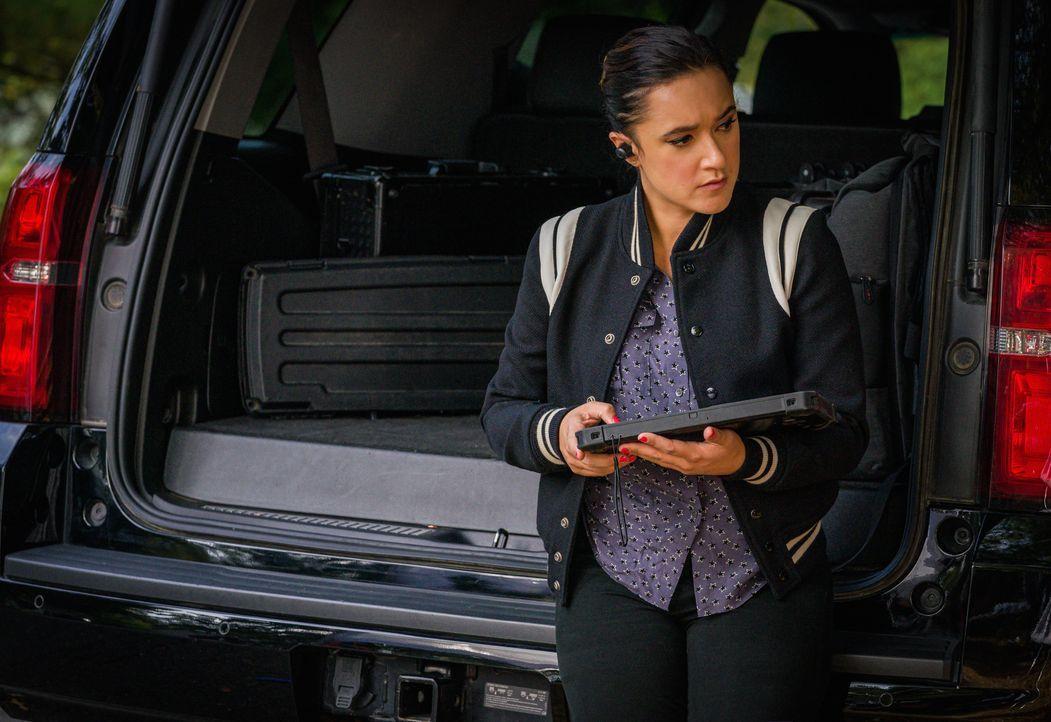 Hana Gibson (Keisha Castle-Hughes) - Bildquelle: Mark Schafer 2020 CBS Broadcasting Inc. All Rights Reserved. / Mark Schafer
