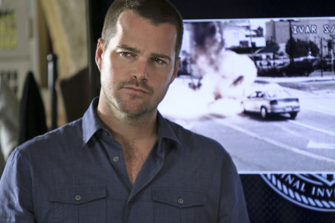 Versucht, gemeinsam mit seinen Kollegen einen neuen Fall auszudecken: Callen (Chris O'Donnell) ... - Bildquelle: CBS Studios Inc. All Rights Reserved.