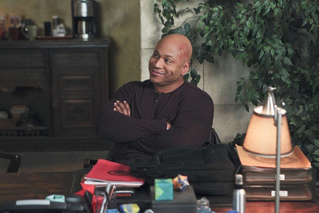 Sam (LL Cool J) scheint endlich zu wissen, wer der gefährliche Maulwurf ist. Doch ist er auf der richtigen Spur? - Bildquelle: CBS Studios Inc. All Rights Reserved.