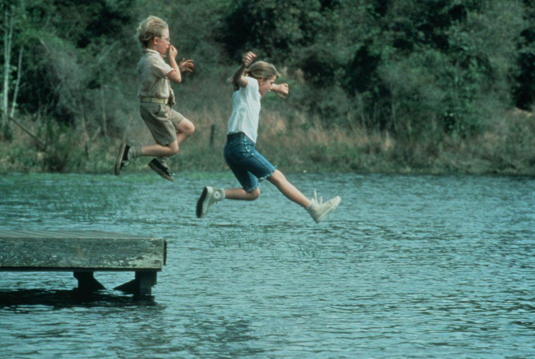 Gehen gemeinsam durch dick und dünn: Thomas J. (Macaulay Culkin, l.) und Vada (Anna Chlumsky, r.) ... - Bildquelle: Columbia Pictures