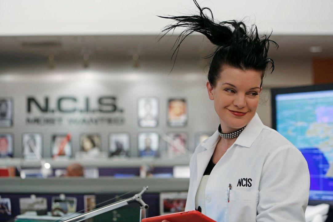 Ermittelt in einem Fall gegen einen berüchtigten Hacker: Abby (Pauley Perrette) ... - Bildquelle: CBS Television