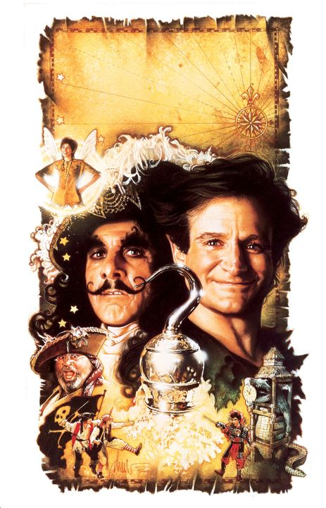 """Hook"" - Artwork - Bildquelle: Copyright   1991 TriStar Pictures, Inc. All Rights Reserved."