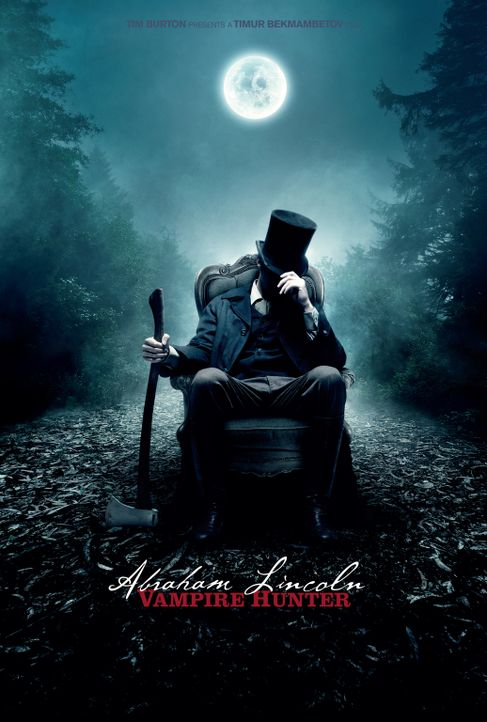 ABRAHAM LINCOLN VAMPIRJÄGER - Plakatmotiv - Bildquelle: 2012 Twentieth Century Fox Film Corporation. All rights reserved.