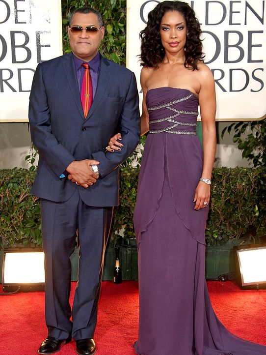Laurence-Fishburne_Gina-Torres-2009-1-11-getty-AFP - Bildquelle: getty AFP